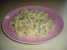 Eier- bzw. Käsenockerl - Rezept