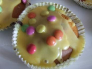 Kunterbunte Muffins - Rezept