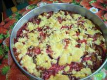 Pflaumenstreusel-Torte - Rezept