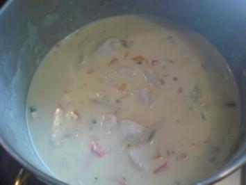 Hühnerfrikassee - schnell gemacht - Rezept