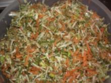 Suppengemüse zum einfrieren - Rezept