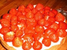 Sündige Erdbeertorte - Rezept