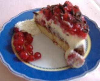 Beeren-Schokoladen-Torte - Rezept