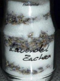 Lavendeliger Zucker - Rezept