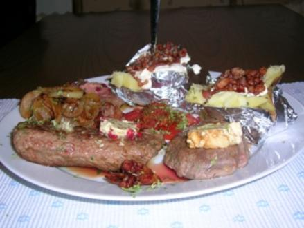 Steakteller Kulinarium á la Rosi (mit fast all meinen selbstgemachten Zutaten) - Rezept - Bild Nr. 2