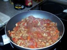 Schnelle Thunfisch-Tomatensoße für Pasta - Rezept