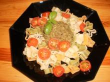 Pesto mit Sonnenblumenkerne - Rezept