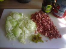scharfe Nudelsoße - Rezept