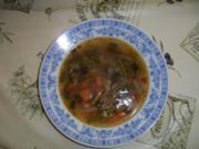 Schnippelbohnensuppe für Kartoffelmuffel - Rezept