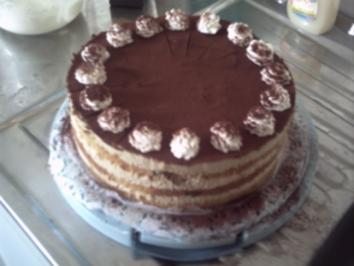 Torten: Espressocreme-Torte - Rezept