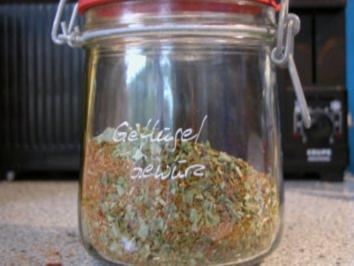 Hähnchen - Würzmischung - Rezept
