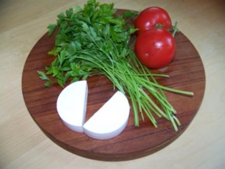 Salate - Salat aus 3 Zutaten - Rezept