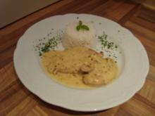 Hauptgericht - Geflügel - Hähnchenbrustfilet in Zitronen- Ingwer - Sahne - Rezept