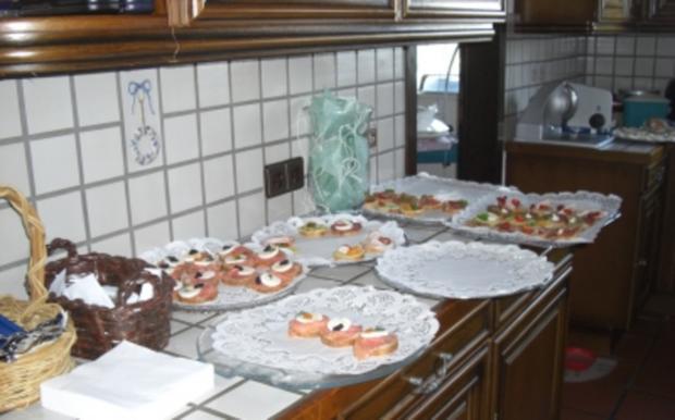 Gäste-Sektempfang mit Häppchen - Rezept - Bild Nr. 6