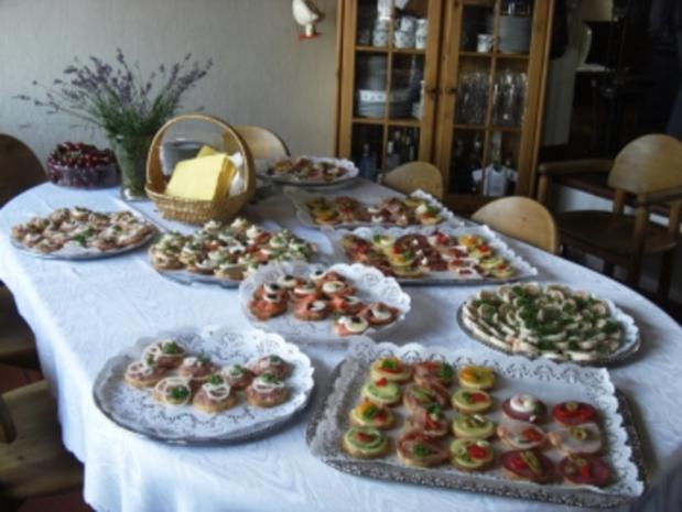 Gäste-Sektempfang mit Häppchen - Rezept - Bild Nr. 8