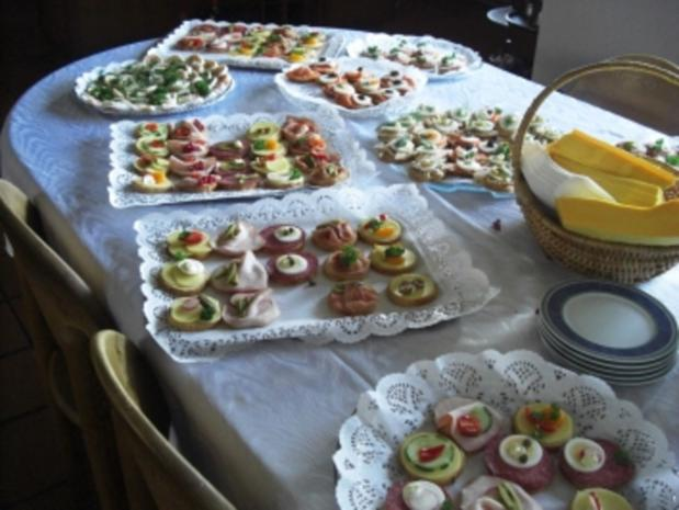 Gäste-Sektempfang mit Häppchen - Rezept - Bild Nr. 9