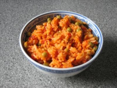 Ajvar-Reis - Rezept