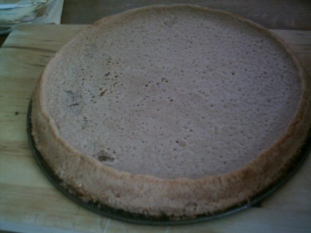 Schoko-Tortenboden - Rezept