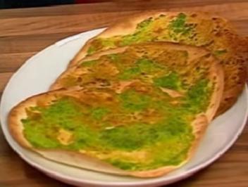Tortillas mit Kräuter-Paste - Rezept