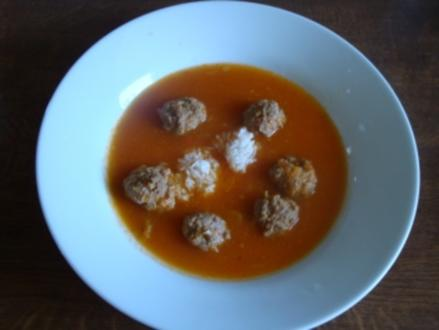 Thai Paprika Soup - Rezept