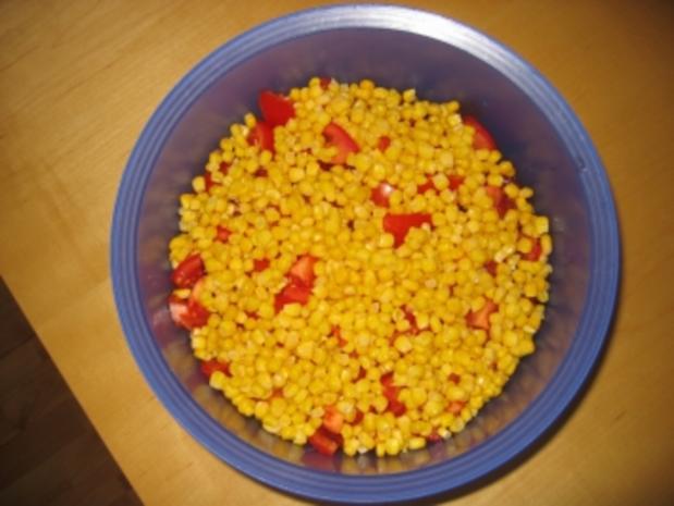 Schichtsalat mit Hack und Tacos - Rezept - Bild Nr. 7