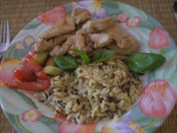 Hühner Pfanne - Rezept