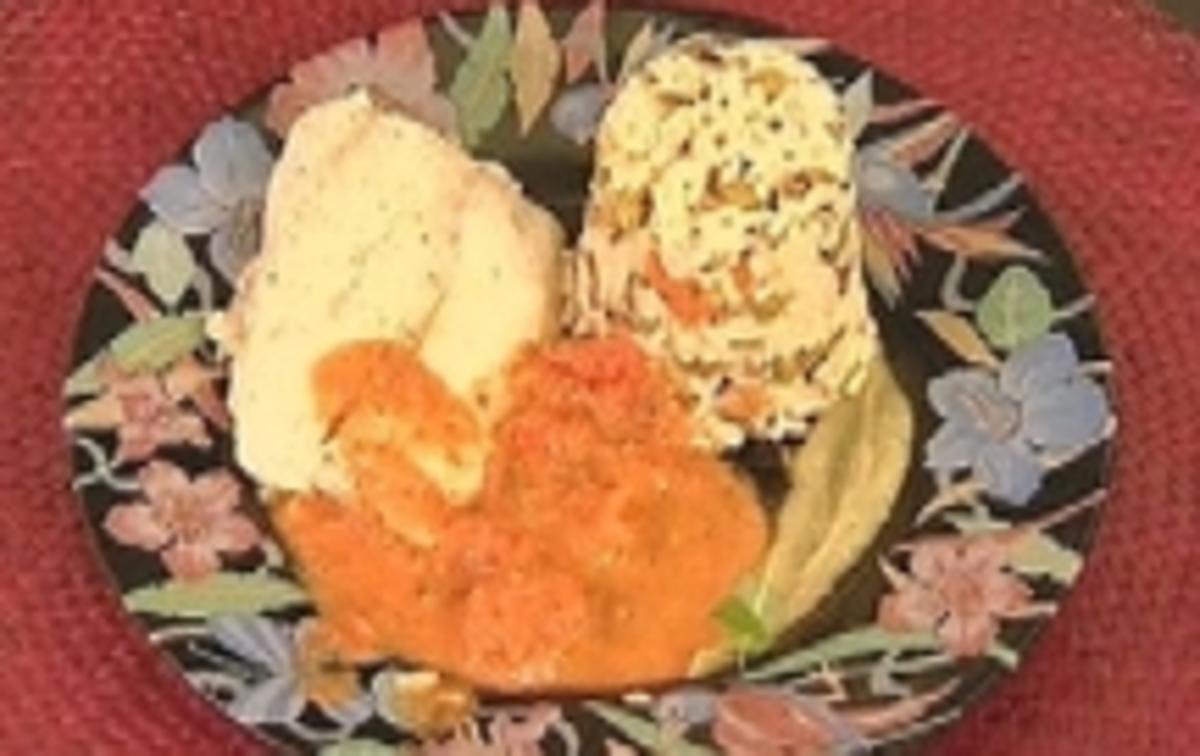 Bilder für Red Snapper unter Salzkruste an Risotto - Rezept