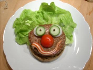 """""""Clown-Burger"""" - Rezept"""