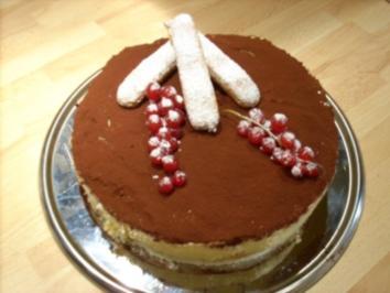 Rezept: Tiramisu-Torte