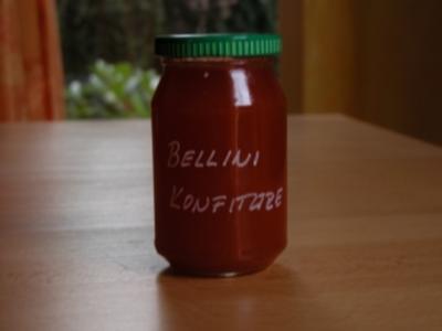 Bellinikonfitüre - wie der Cocktail - Rezept