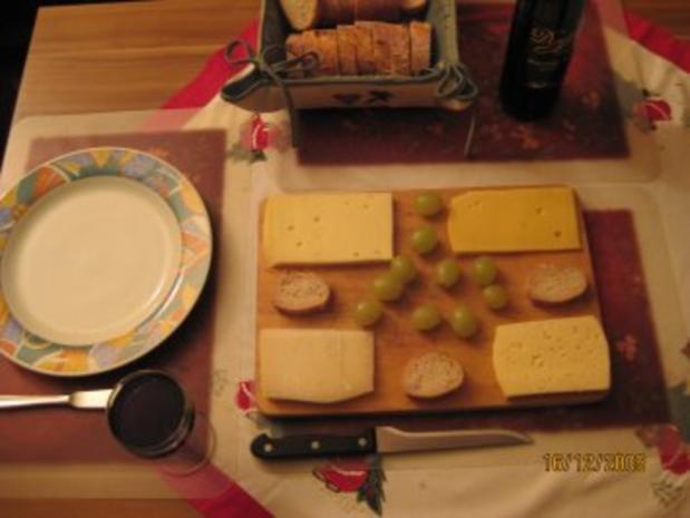 Käse - Geniesserabend für Gestresste - Rezept