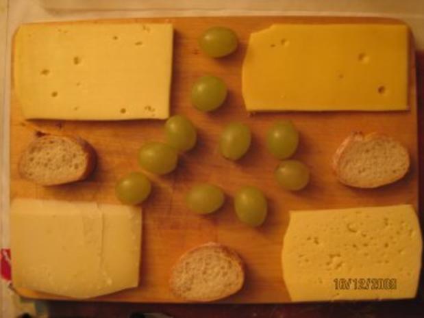 Käse - Geniesserabend für Gestresste - Rezept - Bild Nr. 2