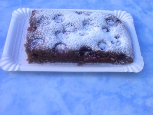 Kirsch - Mohn - Kuchen - Rezept