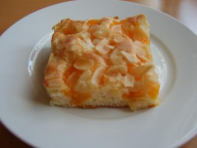 Mandarinenkuchen vom Blech - Rezept