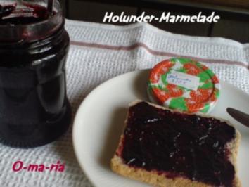 Rezept: Eingemachtes  Holunder-Marmelade