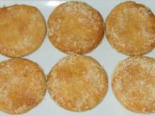 "Plätzchen - Galletas de queso (""Käseplätzchen"") - Rezept"
