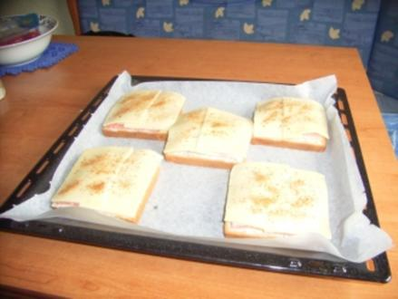 Pizza-Toast - Rezept