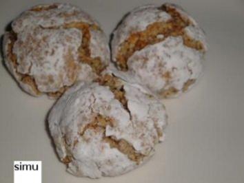 Amaretti - Kekse - Rezept