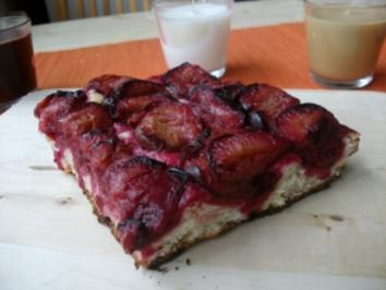 Omas Pflaumenkuchen - Rezept