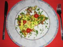Pfifferling-Fritata - Rezept
