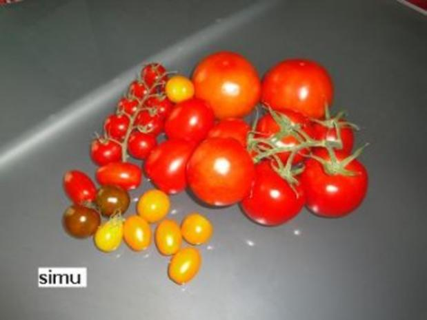 Tomatensalat mit Büffelmozzarella - Rezept - Bild Nr. 2