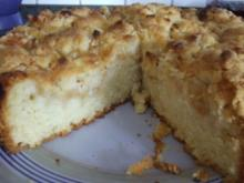 Apfelmus-Streusel-Kuchen - Rezept