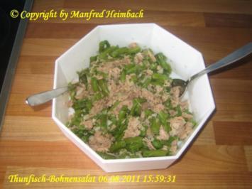 Salat - Bohnen Thunfischsalat - Rezept