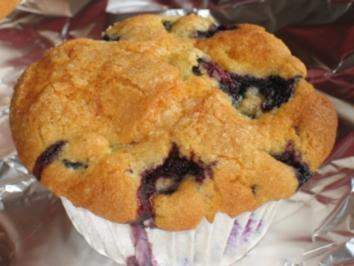 Blueberry-Muffins - Rezept