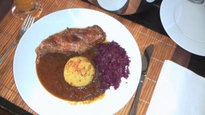 Kaninchenbraten Thüringer Art - Rezept