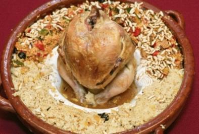 Hähnchen mit zweierlei Couscous (Konrad Krauss) - Rezept