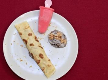 Palatschinken mit Quarkfüllung (Monica Ivancan) - Rezept