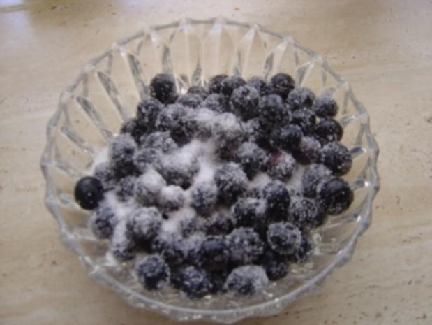Blaubeeren mit Quarkcreme - Rezept - Bild Nr. 3