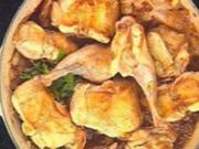 Kaninchen geschmort aus dem Ofen - Rezept