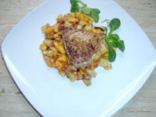 Tunfisch mit Mango-Gurken-Salsa - Rezept